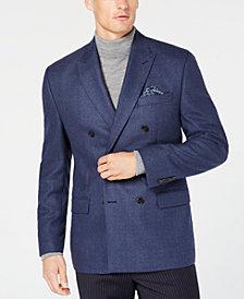 Lauren Ralph Lauren Men's Classic/Regular Fit UltraFlex Tan Weave Double Breasted Wool Sport Coat