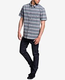Quiksilver Men's Tama Kai Textured Stripe Pocket Shirt
