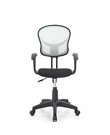Mesh Back, Swiveling Task Chair with Padded Seat