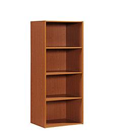 4-Shelf Bookcase in Cherry