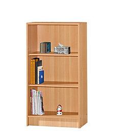 3-Shelf Bookcase in Beech