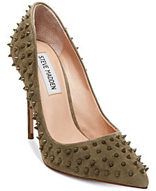 Steve Madden Women's Daisie Spiked Pumps