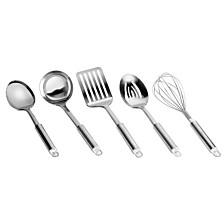 Range Kleen 5pc Stainless Steel Kitchen Tool Set