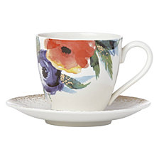 Lenox Passion Bloom Tea Cup & Saucer Set