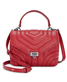 I.N.C. Cissy Quilted Top-Handle Crossbody, Created for Macy's