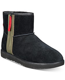 Men's Classic Waterproof Mini Zip Boots