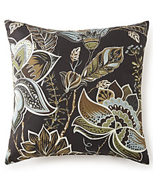 "Sylvan Square Cushion 18""x18"" - Floral"