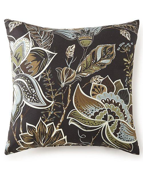 "Colcha Linens Sylvan Square Cushion 18""x18"" - Floral"