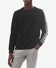 Calvin Klein Men's Contrast Logo Stripe Sweatshirt