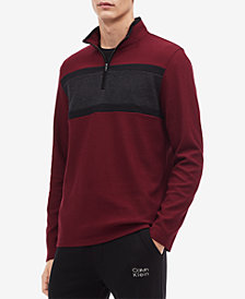 Calvin Klein Men's Colorblocked Stripe Pullover