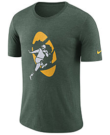 Nike Men's Green Bay Packers Historic Crackle T-Shirt