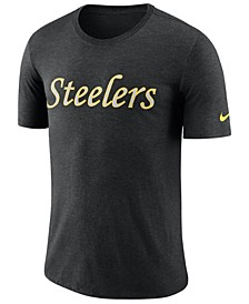 Men's Pittsburgh Steelers Historic Crackle T-Shirt