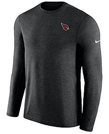 Nike Men's Arizona Cardinals Coaches Long Sleeve Top