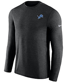 Nike Men's Detroit Lions Coaches Long Sleeve Top