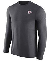 Nike Men s Kansas City Chiefs Coaches Long Sleeve Top 079b1a8fd