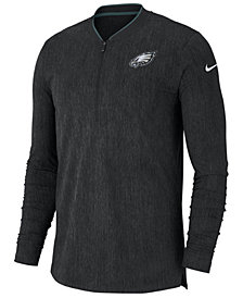 Nike Men's Philadelphia Eagles Coaches Quarter-Zip Pullover