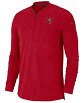 ceb5392dd Nike Men s Tampa Bay Buccaneers Coaches Quarter-Zip Pullover
