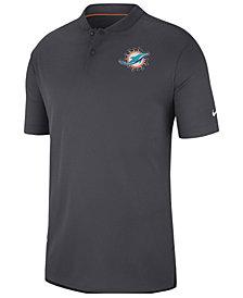 Nike Men's Miami Dolphins Elite Coaches Polo 2018