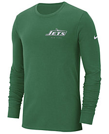 Nike Men's New York Jets Heavyweight Seal Long Sleeve T-Shirt