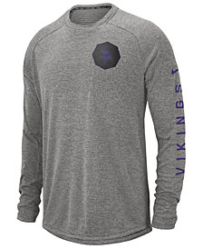 Nike Men's Minnesota Vikings Stadium Long Sleeve T-Shirt