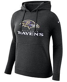 Nike Women's Baltimore Ravens Club Pullover Hoodie
