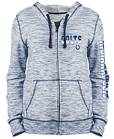 5th & Ocean Women's Indianapolis Colts Space Dye Full-Zip Hoodie