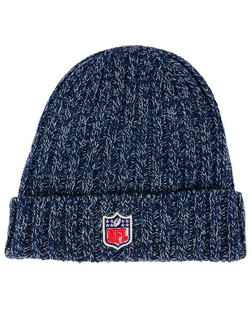 info for aecbe 319a4 New Era Women s New England Patriots On Field Knit Hat ...