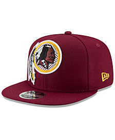 New Era Washington Redskins Meshed Mix 9FIFTY Snapback Cap