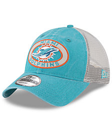 New Era Miami Dolphins Patched Pride 9TWENTY Cap