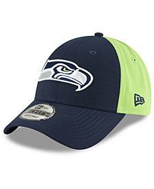 New Era Seattle Seahawks Team Blocked 9FORTY Cap
