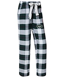 Women's New York Jets Headway Flannel Pajama Pants