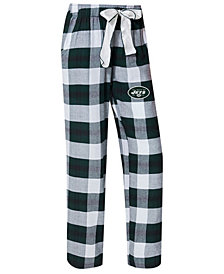 Concepts Sport Women's New York Jets Headway Flannel Pajama Pants