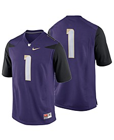 Washington Huskies Replica Game Jersey, Big Boys (8-20)