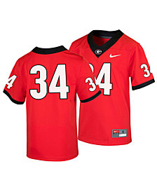 Nike Georgia Bulldogs Replica Game Jersey, Big Boys (8-20)