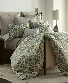 Sherry Kline Splendor Ice water 3-piece Queen Comforter Set