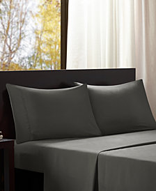 Intelligent Design Microfiber 4-PC Queen Sheet Set