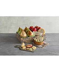 Classic Pears, Apples & Cheese Gift Set