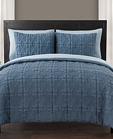 VCNY Home Iron Gate 5-Pc. Quilted Twin Bed-in-a-Bag Set