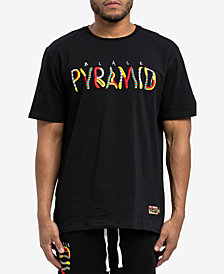 Black Pyramid Men's Whimsical Logo Graphic T-Shirt