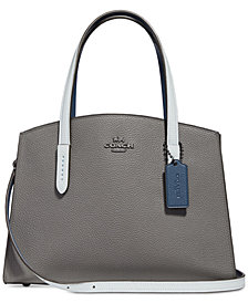 COACH Colorblocked Charlie 28 Carryall