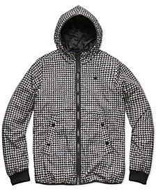 G-Star RAW Men's Houndstooth Hooded Jacket