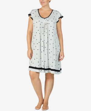 Plus Size Yours to Love Short Sleeves Nightgown