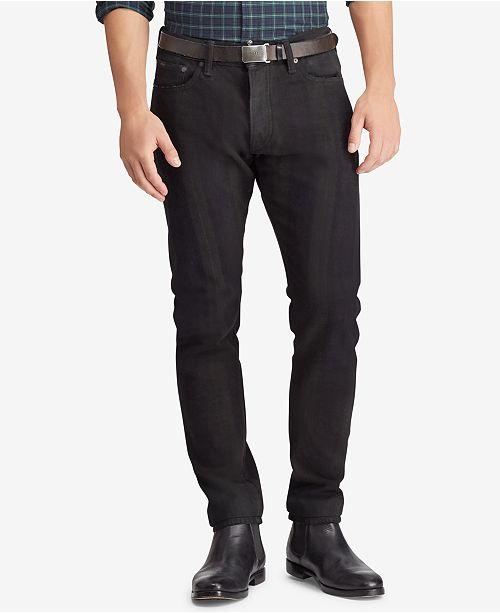 fd1ddc6838ff Polo Ralph Lauren Men s Sullivan Slim Tartan Jeans  Polo Ralph Lauren Men s  Sullivan Slim Tartan ...