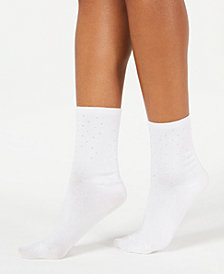 I.N.C. Pin Studded Anklet Socks, Created for Macy's