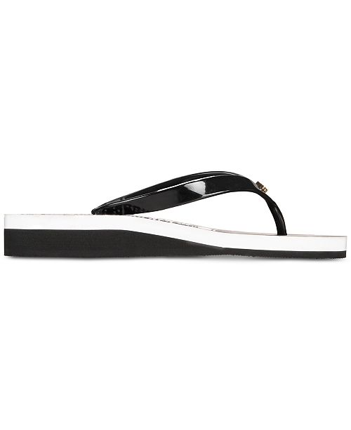06e57f2ab50a kate spade new york Milli Wedge Flip-Flops   Reviews - Sandals ...