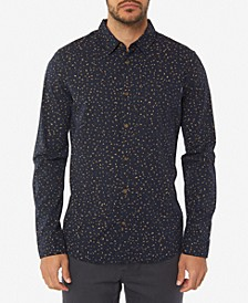 Men's Phases Printed Long Sleeve Shirt