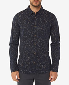 O'Neill Men's Phases Printed Long Sleeve Shirt