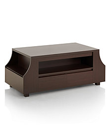 Moshe Modern Coffee Table With Side Storage