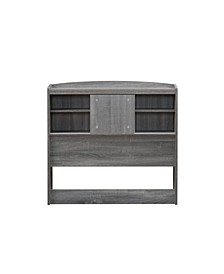 Martucci Twin Bookcase Headboard