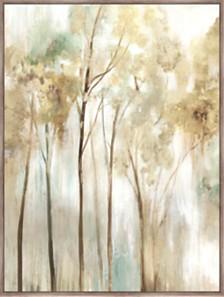 Sapling Framed Hand Embellished Canvas